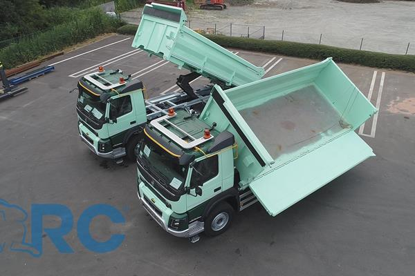 Two-side tipper / three-side tipper