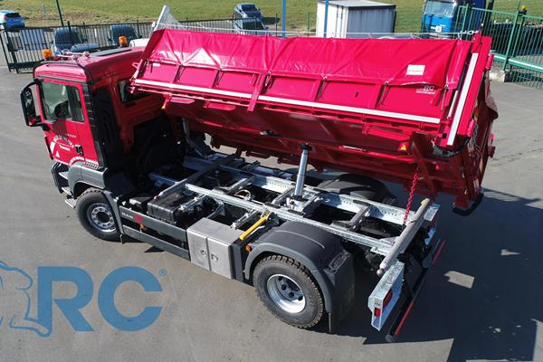 Three-way tippers 19T - RC Bolt System