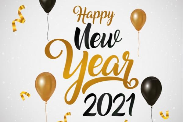 Happy new year 2021 - Home